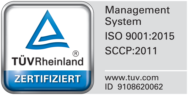 Nureldin Gerüstbau TÜV Rheinland Zertifikat